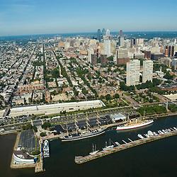 Aerial view of CHART HOUSE,, Philadelphia, Pennsylvania