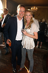 ORLANDO FRASER and CLEMENTINE HAMBRO at a party to celebrate the publication of Title Deeds by Liza Campbell at the First Floor, 186 Portobello Road, London on 14th June 2006.<br /><br />NON EXCLUSIVE - WORLD RIGHTS