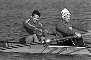 Kingston on Thames, United Kingdom.  Nick HOWE, competing at  The final Round of the Leyland Daf Sprint series, at Kingston RC on the River Thames, Surrey, England, <br /> <br /> Saturday 04.05.1987<br /> <br /> [Mandatory Credit; Peter Spurrier/Intersport-images] 1987 Leyland Daf Sprints, Kingston. UK