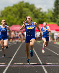 Maine State Track & Field Meet, Class B: girls 100 meter dash, Kate Hall, Lake Region, state record