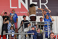 Portsmouth fans during the EFL Sky Bet League 1 match between Doncaster Rovers and Portsmouth at the Keepmoat Stadium, Doncaster, England on 25 August 2018.Photo by Ian Lyall.