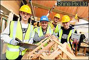 The new construction centre at Stourbridge College, Hagley Rd is officially open today 12th October 2016 with help from building expert and former Big Brother winner, Craig Phillips. Picture by Shaun Fellows / Shine Pix