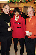 New York, NY- January 16- l to r: David Goodman, president, The Andrew Goodman Foundation, Actress Angela Bassett and New York City Mayor Michael Bloomberg at the New York City Service Program in Honor of Martin Luther King Jr. Day held at the Mirabel Sisters Campus in West Harlem, New York City. Photo Credit: Terrence Jennings