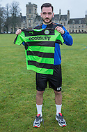 Jake Gosling signs on loan with Forest Green Rovers from Bristol Rovers, until the end of the season at the New Lawn, Forest Green, United Kingdom on 17 January 2017. Photo by Shane Healey.