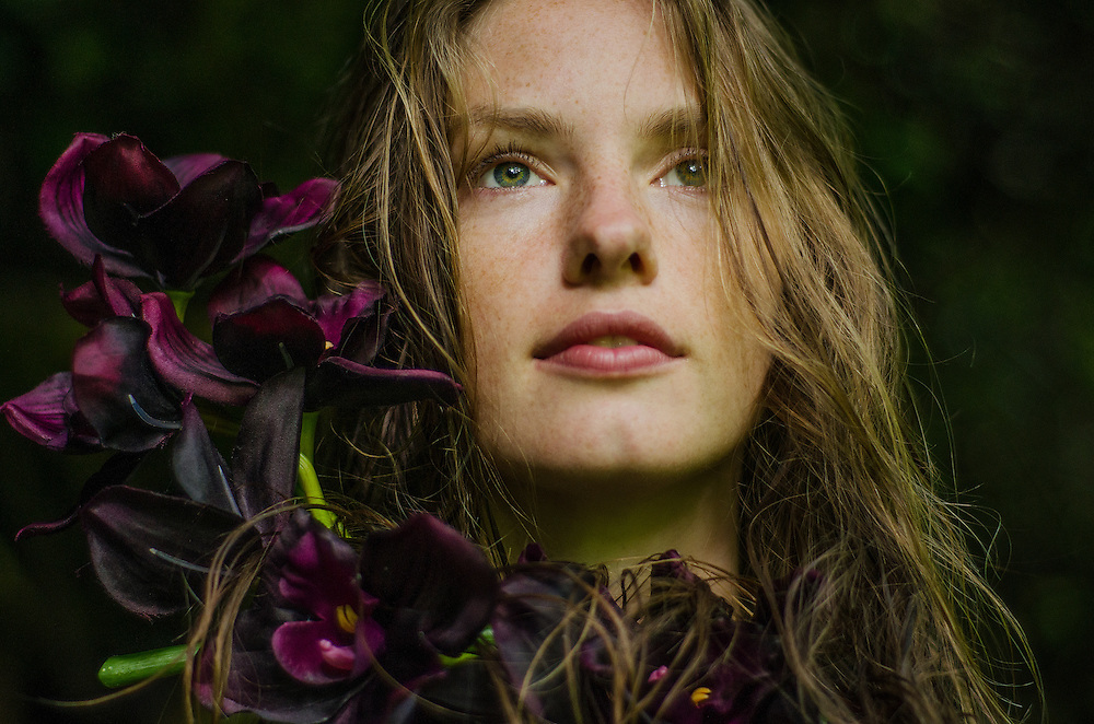 Conceptual portrait and self-portrait photographs taken in natural locations by Janelle Pietrzak aka Explored Exposure.