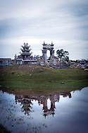 Temple in countryside of Hue, Vietnam, Southeast Asia