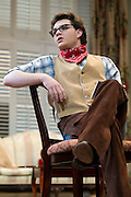 """Grant Bower performs during a dress rehearsal for """"Yellow"""" at the Kalita Humphreys Theater February 20, 2013 in Dallas, Texas. (Cooper Neill/The Dallas Morning News)"""