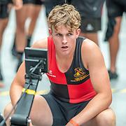 1:26 PM- APL #23 Heat 2- Men?s 1000m U17<br /> <br /> NZ Indoor Champs, raced at Avanti Drome, Cambridge, New Zealand, Saturday 23rd November 2019 © Copyright Steve McArthur / @rowingcelebration www.rowingcelebration.com
