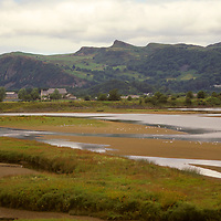 Europe, United Kingdom, Wales. Scenic landscape of northern Wales, Anglesey and Snowdonia region.