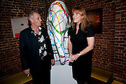 MARK SHAND; SARAH THE DUCHESS OF YORK, The launch party for Elephant Parade hosted at the house of  Jan Mol. Covent Garden. London. 23 June 2009.