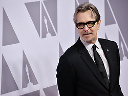 Gary Oldman arrives at the 90th Annual Academy Awards Nominee Luncheon held at the Beverly Hilton in Beverly Hills, CA on Monday, February 5, 2018. (Photo By Sthanlee B. Mirador/Sipa USA)