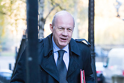 Downing Street, London, November 29th 2016. Work and Pensions Secretary Damian Green arrives at 10 Downing Street for the weekly meeting of the UK cabinet.