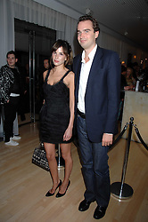FRITZ VON WESTENHOLZ and CAROLINE SIEBER at an Evening at Sanderson in Aid of CLIC Sargent held at The Sanderson Hotel, 50 Berners Street, London W1 on 15th May 2007.<br />