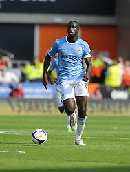 Manchester City's Yaya Touré  - Photo mandatory by-line: Joe Meredith/JMP - Tel: Mobile: 07966 386802 25/08/2013 - SPORT - FOOTBALL - Cardiff City Stadium - Cardiff -  Cardiff City V Manchester City - Barclays Premier League
