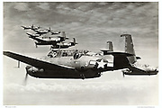 TBM Avengers, WWII, air-to-air