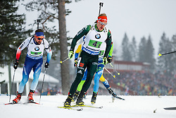 March 16, 2019 - –Stersund, Sweden - 190316 Roman Rees of Germany competes in the Men's 4x7,5 km Relay during the IBU World Championships Biathlon on March 16, 2019 in Östersund..Photo: Johan Axelsson / BILDBYRÃ…N / Cop 245 (Credit Image: © Johan Axelsson/Bildbyran via ZUMA Press)