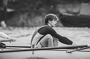 London, United Kingdom.  Oxford University Boat Club, Training Camp at St Paul's School, Hammersmith 2-12 Jan. 1990, Photography days 3 and 6th Jan. The squad training on the River Thames,[Tideway] Between the Pink House, Isleworth and Putney Hard,<br /> Jonny SEARLE. <br /> [Mandatory Credit. Peter SPURRIER Intersport Images}.<br /> <br /> Blue Boat. W, M Gaffney J J Heathcote D G Miller R J Obholzer M C Pinsent J W C Searle T G Slocock M W Watts. 1991, W, P A J Bridge N Chugani H P M ..