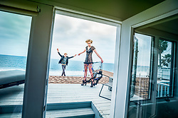 Fashion Editorial LoverBoy. Models: Mathilda Tolvanen Dylan Verlooy. Malibu Beach House.<br /> Stylist Melissa Laskin<br /> Makeup: Maureen Burke<br /> Hair: Patrick Chai<br /> Photographed in Malibu Beach California<br /> Copyright Amyn Nasser. All Rights Reserved.