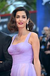 "74th Venice Film Festival, Red Carpet ""Suburbicon"". George Clooney, Amal Clooney, Matt Damon, Julianne Moore. 02 Sep 2017 Pictured: Amal Clooney. Photo credit: KILPIN / MEGA TheMegaAgency.com +1 888 505 6342"