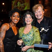 NLD/Amsterdam/20131018 - Televiziergala 2013, Dolores Leeuwin, Dieuwertje Blok en Jeroen Kramer