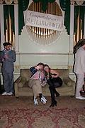ANDY HART; MELINDA NICCI, Svletlana and Jawek's Asylum seekers arranged marriage valentines party. Home House. 12 February 2010