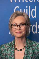 February 17, 2019 - Beverly Hills, California, U.S - Jane Lynch on the red carpet of the 2019 Writers Guild Awards at the Beverly Hilton Hotel on Sunday February 17, 2019 in Beverly Hills, California. ARIANA RUIZ/PI (Credit Image: © Prensa Internacional via ZUMA Wire)