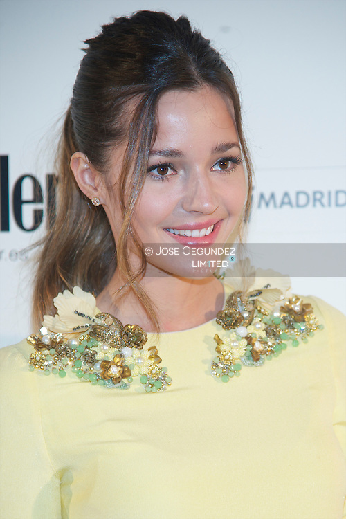 Malena Costa attend Conde Nast Traveler 2013 awards photocall at Cecilio Rodriguez garden on April 25, 2013 in Madrid, Spain.