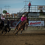 17-J14-Wy Hs Fnls Thrs 2nd go Team Roping