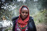 December 5, 2016 - Breil-sur-Roya, France: Johanna, 17, is an unaccompanied minor migrant from Eritrea that found shelter on the farm of Cedric Herrou. Cedric is one of the inhabitants of the village Breil-sur-Roya in the Roya valley, in the Alps on the French Italian border, who formed a network to help migrants. <br /> <br /> 5 décembre 2016 - Breil-sur-Roya, France: Johanna, 17 ans, est une migrante non accompagnée d'Érythrée qui a trouvé un abri sur la ferme de Cedric Herrou. Cédric est l'un des habitants du village de Breil-sur-Roya, dans la vallée de la Roya, dans les Alpes à la frontière franco-italienne, qui a formé un réseau d'aide aux migrants.