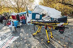 Munich Refugees in Hunger Strike Hold Press Conference, Collapse, Receive Medical Attention, 4 Nov.