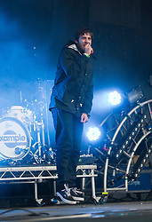 Example plays in the Main Stage, Rockness, Saturday, 11th June 2011..RockNess 2011, the annual music festival which takes place in Scotland at Clune Farm, Dores, on the banks of Loch Ness near Inverness..Pic ©2011 Michael Schofield. All Rights Reserved..