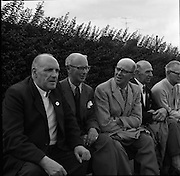 Bowling Final at Iveagh Grounds, Dublin.<br /> 29.07.1961