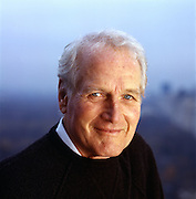 Paul Newman, Academy Award-winning actor and founder of Newman's Own a charitable organization that has donated more money than the actor has made from his films.