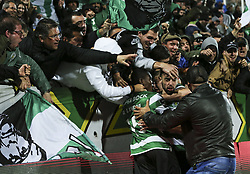 April 30, 2018 - Na - Portimão, 04/28/2017 - Portimonense received this evening the Sporting CP in game to count for the 32nd day of the 1st Liga 2017/2018, in the Municipal Stadium of Portimão. Bruno Fernandes  (Credit Image: © Atlantico Press via ZUMA Wire)
