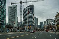 Development along Lake Shore Boulevard