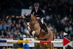DEVOS Peter (BEL), Apart<br /> Stuttgart - German Masters 2018<br /> Mercedes German Master CSI5*-W<br /> 16. November 2018<br /> © www.sportfotos-lafrentz.de/Stefan Lafrentz