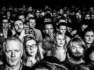 Audience of Norwegian singer-songwriter Emilie Nicolas at Iceland Airwaves