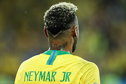 Neymar of Brazil during the 2018 FIFA World Cup Russia group E match between Serbia and Brazil at the Otkrytiye Arena on June 27, 2018 in Moscow, Russia