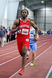 BU Terrier Indoor track meet<br /> Chiebuka Onwuzurike, Boston U, 400m
