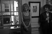 SALLY EMERSON; JULIA WATSON , The launch of Fire Child by Sally Emerson. Hosted by Sally Emerson and Naim Attalah CBE. Dean St. London. 22 March 2017