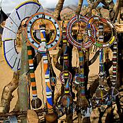 Maasai ornaments.