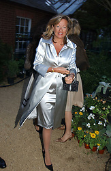 PRINCESS CHANTAL OF HANOVER at the annual Cartier Flower Show Diner held at The Physics Garden, Chelsea, London on 23rd May 2005.<br />