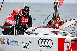 , Kiel - Kieler Woche 17. - 25.06.2017, Audi e-tron Cup - Boot 6 - Team ERC Ingolstadt - David Elsner, Fabio Wagner, Tommy Samuelsson
