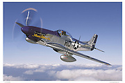 P-51D Mustang, aerial photography
