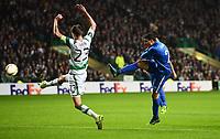 05/11/15 UEFA EUROPA LEAGUE GROUP STAGE<br /> CELTIC v MOLDE FK<br /> CELTIC PARK - GLASGOW<br /> Molde's Mohamed Elyounoussi scores his side's opening goal of the game