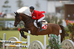 Bourquard Anthony, SUI, Indiana des Abattes CH<br /> Children European Championships Jumping <br /> Samorin 2017© Hippo Foto - Dirk Caremans<br /> 11/08/2017