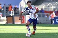 FOOTBALL - FRENCH CHAMPIONSHIP 2012/2013 - L1 - OLYMPIQUE LYONNAIS v AC AJACCIO - 16/09/2012 - PHOTO EDDY LEMAISTRE / DPPI - Clément GRENIER (OL)
