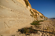 Meco Beach, one of the oficial naturist beaches in Portugal.