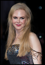 October 12, 2017 - London, London, United Kingdom - Image licensed to i-Images Picture Agency. 12/10/2017. London, United Kingdom. Nicole Kidman arriving at the Killing of a Sacred Deer premiere at the London Film Festival. Picture by Stephen Lock / i-Images (Credit Image: © Stephen Lock/i-Images via ZUMA Press)