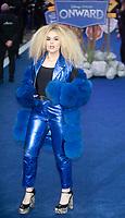 Tallia Storm at the 'Onward' film premiere, Curzon Mayfair, London, UK - 23 Feb 2020 photo by Brian Jordan
